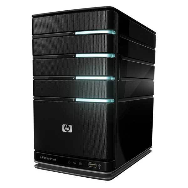 NAS SERVER HP DataVault X510 4bays - TESTED & UPDATED - READY TO RUN