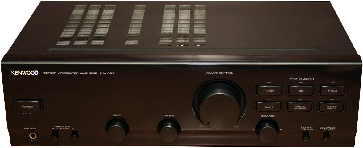 KENWOOD KA-1060 AMPLIFIER black