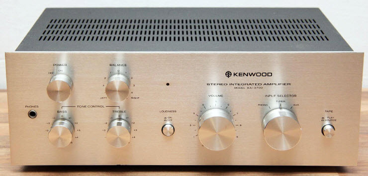 AMPLIFIER KENWOOD KA-3700 silver