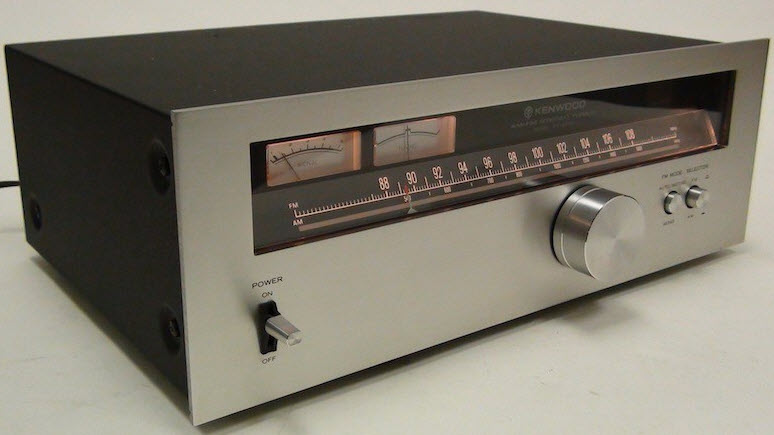 e KENWOOD KT-5500 ΔΕΚΤΗΣ TUNER silver - MINT
