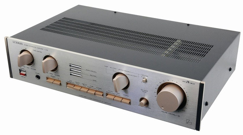 LUXMAN L-230 AMPLIFIER silver