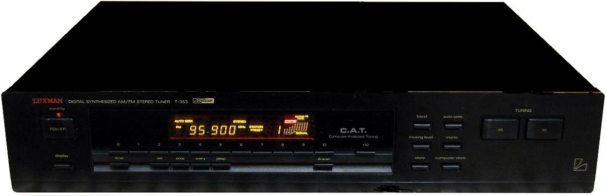 ΔΕΚΤΗΣ LUXMAN T-353 TUNER DIGITAL black