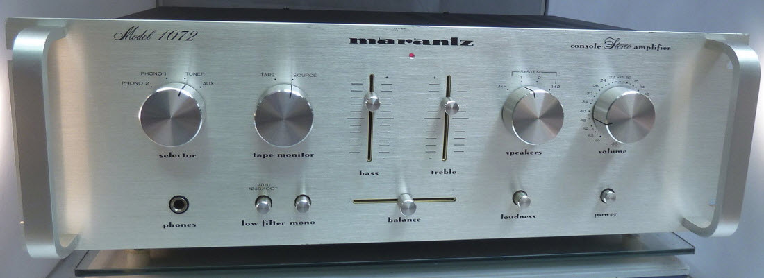 ΕΝΙΣΧΥΤΗΣ MARANTZ 1072 AMPLIFIER silver