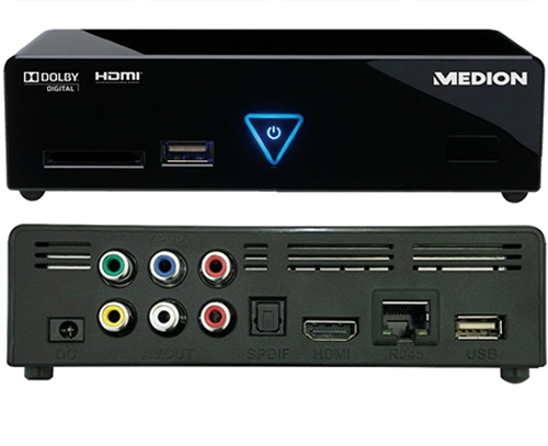 DIGITAL MEDIA PLAYER FLAC 24bit-96k MEDION LIFE E85015 MD 86162