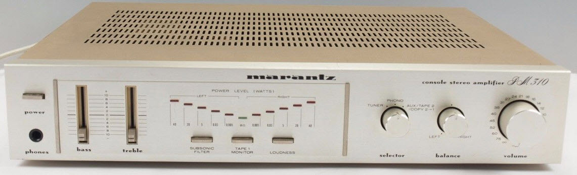 ΕΝΙΣΧΥΤΗΣ MARANTZ PM310 AMPLIFIER  silvergold