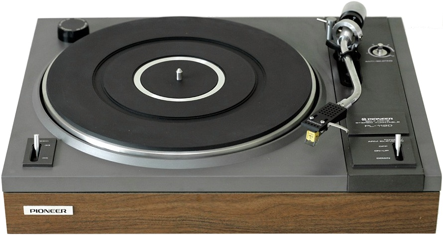 PIONEER PL-112D ΠΙΚΑΠ BD TURNTABLE wood
