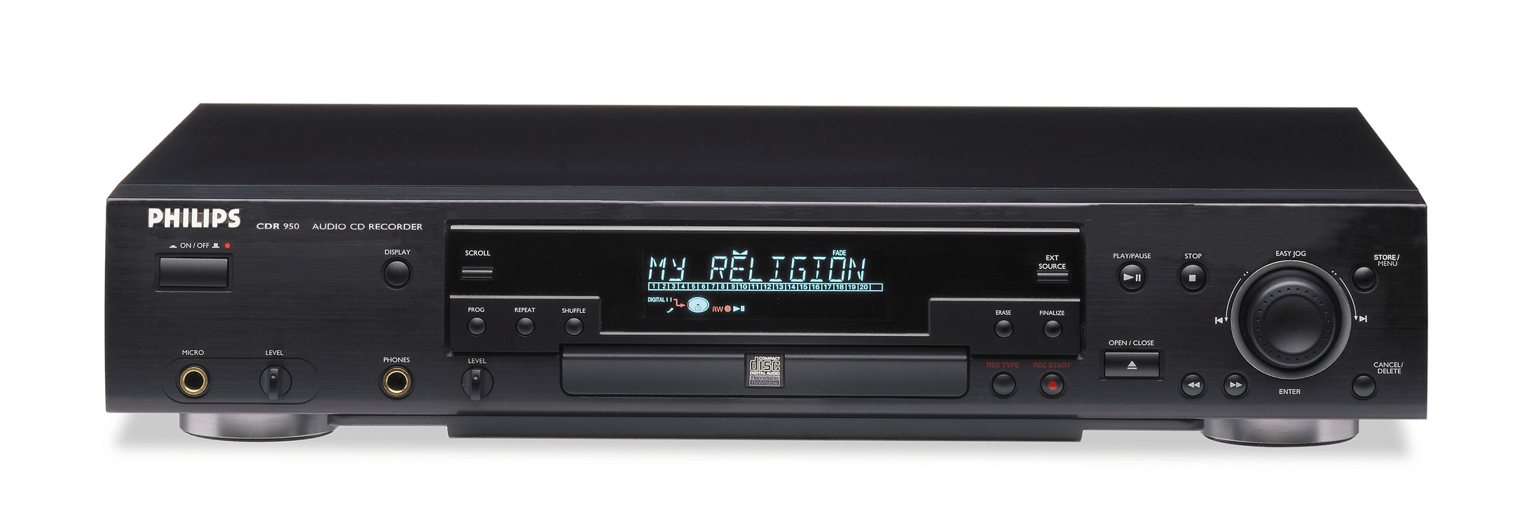 CDR RECORDER PHILIPS CDR950 black & remote control