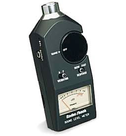 radio shack sound level meter 33 2050 manual