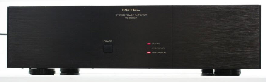 ROTEL RB-870BX POWER AMPLIFIER black
