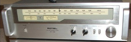 * ROTEL RT-725 TUNER ANALOG ΔΕΚΤΗΣ silver - MINT