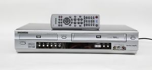 DVD PLAYER & VHS RECORDER COMBO SAMSUNG SV-DVD640 silver