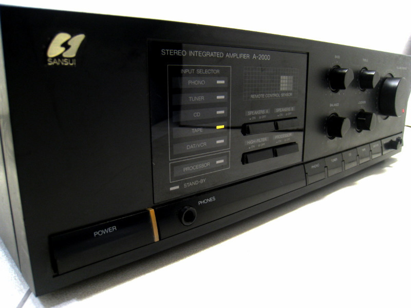 ΕΝΙΣΧΥΤΗΣ SANSUI A-2000 AMPLIFIER black
