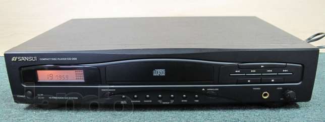 SANSUI CD-200 CD PLAYER black