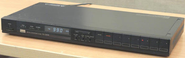 DIGITAL TUNER SANSUI TU-D33X black