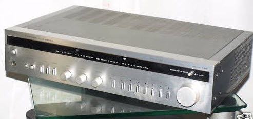 SANYO PLUS A35 AMPLIFIER silver