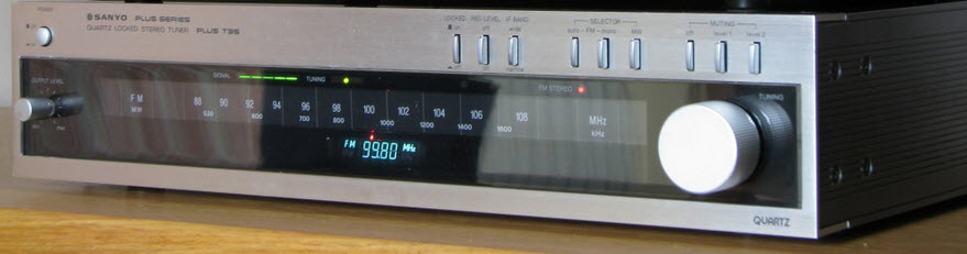 ΔΕΚΤΗΣ SANYO PLUS T35 DIGITAL TUNER silver