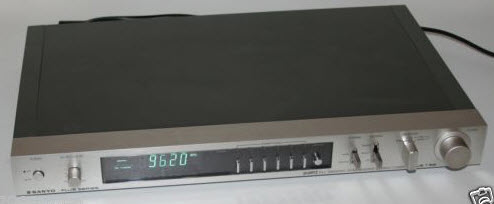 ΔΕΚΤΗΣ SANYO PLUS T55 TUNER silver - FULL SERVICED