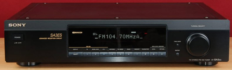 ΔΕΚΤΗΣ SONY ST-SA3ES TUNER DIGITAL black