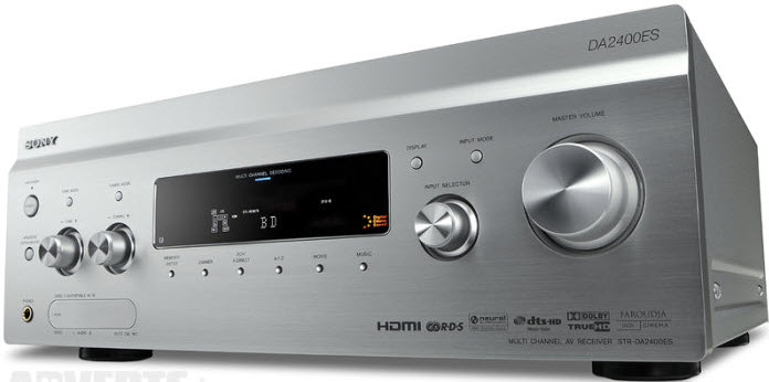 ΡΑΔΙΟΕΝΙΣΧΥΤΗΣ SONY STR-DA2400ES RDS DIGITAL RECEIVER silver