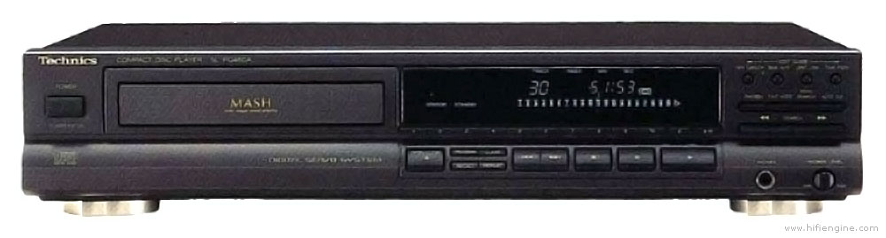 CD PLAYER TECHNICS SL-PG460A black - NEW LASER