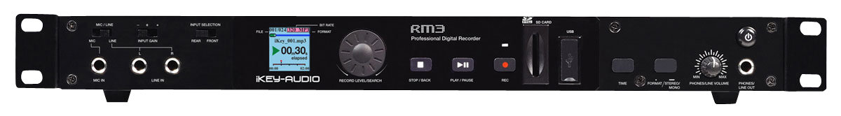 USB & SD iKEY RM3 DECK DIGITAL RECORDER & PLAYER -  new boxed