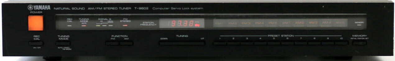 ΔΕΚΤΗΣ YAMAHA T-960 ii TUNER DIGITAL black